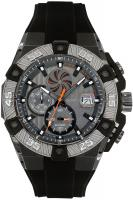 Quantum POWERTECH, Herren Uhr, Armbanduhr, silver/grey, 49x56mm, silicone black