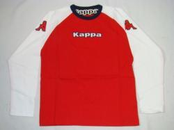 Kappa Kinder Longsleeve Hannover rot/weiß/dunkelblau T-Shirt