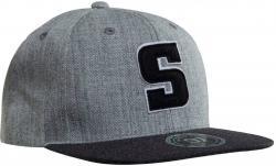 Salming Carlton Cap Verstellbare Snapback Mütze grau 1187860-1010