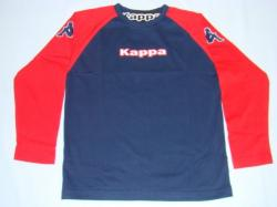 Kappa Longsleeve Hannover T-Shirt dunkelblau/rot