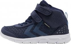 Hummel Crosslite Mid Tex Jr Klett Schuhe Sneaker blau 212062-1009