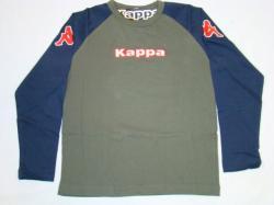 Kappa Kinder Longsleeve Hannover olive/dunkelblau T-Shirt