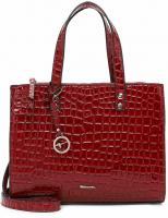 Tamaris Diana Bag 31212 Rot Kroko 689 Synthetik Tasche