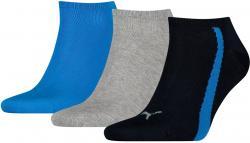 3 Paar Puma Lifestyle Sneaker Socken Gr. 35 - 46 Unisex Kurzsocke Füßlinge