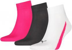 3 Paar Puma Lifestyle Quarter Socken Gr. 35 - 46 Unisex Sneaker Füßlinge