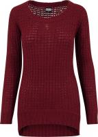 Sweatshirt TB739 Ladies Long Wideneck Sweater Damen Pullover
