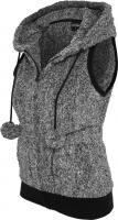 TB615 Ladies Melange Teddy Vest PlŸsch Weste