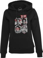 T-Shirt Mister Tee MT463 Ladies Five Seconds of Summer Faces Hoody