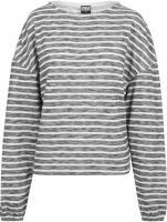 Sweatshirt Urban Classics TB1837 Ladies Oversize Stripe Pullover