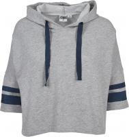 Hoody Urban Classics TB1978 Ladies Taped Short Sleeve Kapuzensweatshirt