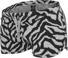 TB470 Ladies Zebra Hotpants kurze Hose