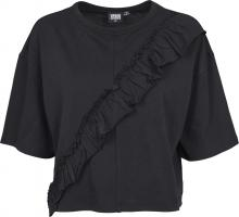 T-Shirt Urban Classics TB1917 Ladies Short Oversize Volant Tee
