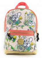 Pick & Pack Kinder Rucksack Mice 7L Backpack S 17102 pink