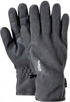 Barts Fleece Handschuhe heather grey