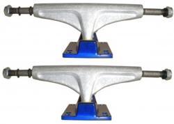V-Skateboard Achsen Set Stone Silver / Blue 7.5 (2 Achsen)