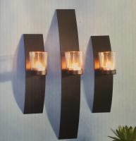 Wandkerzenhalter Set für Teelichter