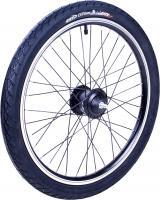 Zündapp Z101 20 Zoll Vorderrad mit Panasonic Nabendynamo Laufrad Komplettrad Fahrrad Faltrad