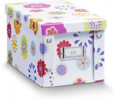 2er SET ZELLER CD-BOX  Kids  CD BOX AUFBEWAHRUNGSBOX mit DECKEL für 20 CD's NEU