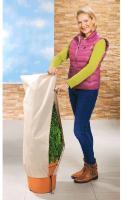 2x Winter Frostschutz-Vlies für Bäume, Rosen, Kübelpflanzen, Pflanzenhülle