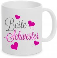 Beste Schwester - Tasse