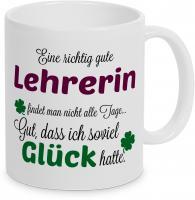 Eine gute Lehrerin... - Tasse -Kaffeebecher - Geschenk