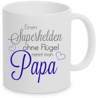 Einen Superheld ohne Flügel nennt man Papa - Tasse