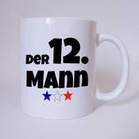 Der 12. Mann - Frankreich Fussball - Tasse - Fan Tasse