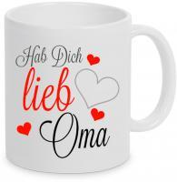 Hab Dich lieb Oma - Tasse