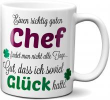 Einen guten Chef... - Tasse - Kaffeebecher - Geschenk