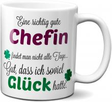 Eine gute Chefin... - Tasse -Kaffeebecher - Geschenk