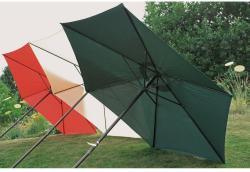 Sonnenschirm TERRACOTTA Ø 300cm, Stahl/Polyester 180 gr. wasserabweisend 504425